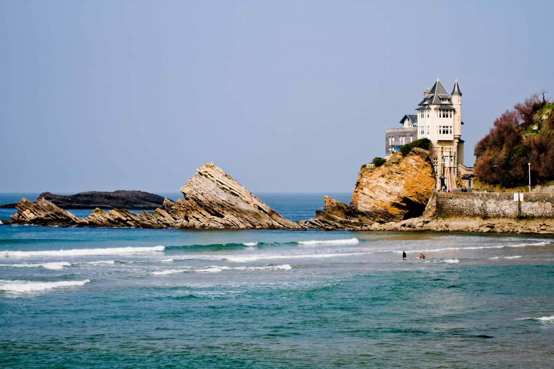 Hôtel de la gare proche de Biarritz