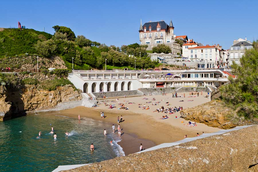 Hôtel de la palombe bleue vers Biarritz