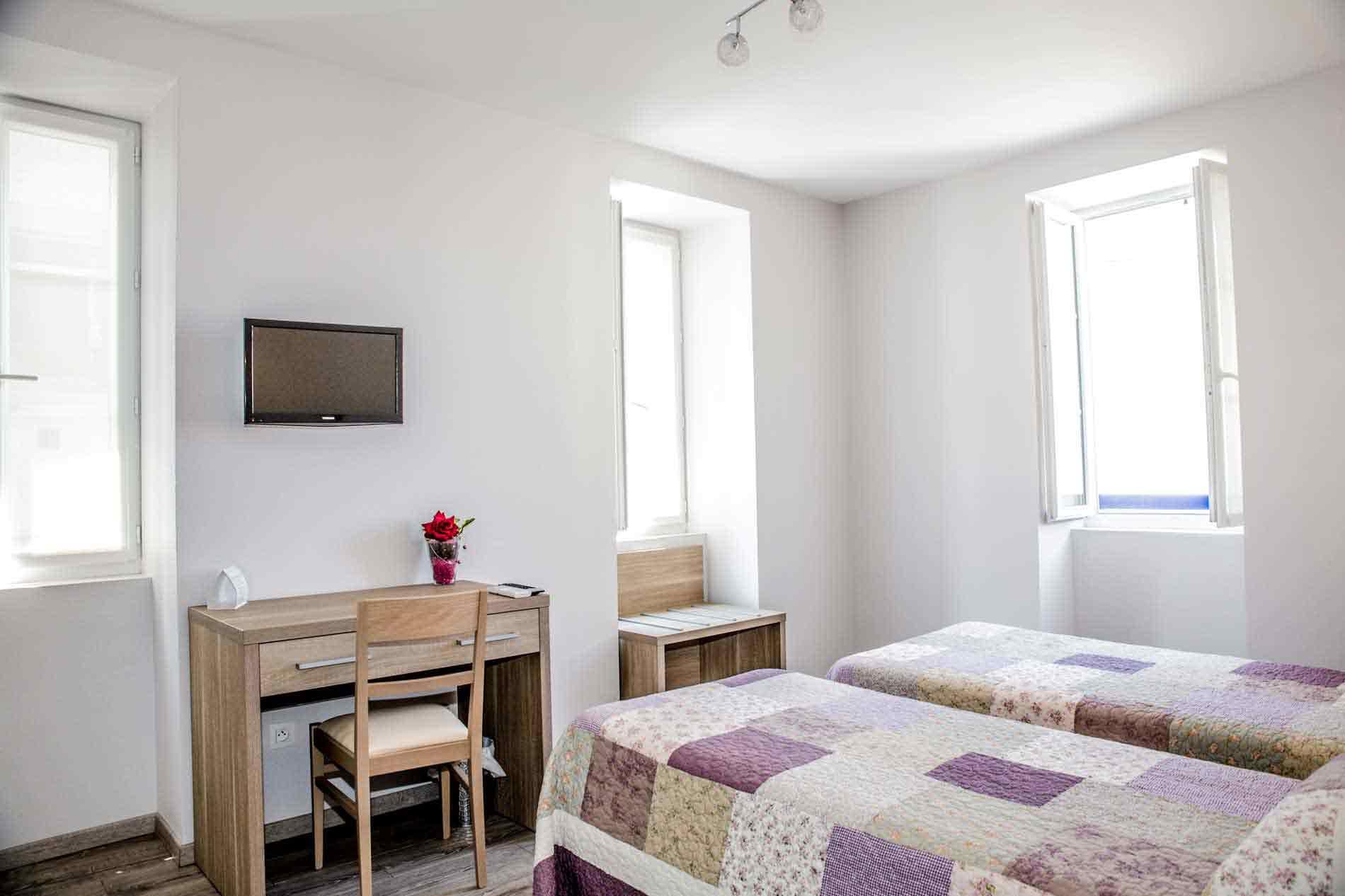 Des chambres confortables